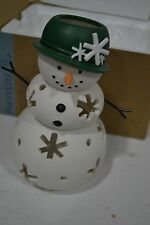 RETIRED Mrs Snow Tealight Holder P91130 NEW IN BOX Add to Family Collection NIB