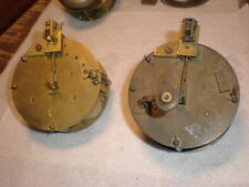 Lot of 2-French-Antique-Clock Movements/Parts-Ca.1890-#N273