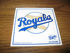 2 1/2 X 3 1/2 in  KANSAS CITY Royals Baseball STICKER