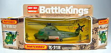 Matchbox Battle King Kaman k-118 Seasprite Helicopter nuevo en Box