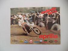 advertising Pubblicità 1977 MOTO APRILIA MX 125/250