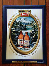 Coors Banquet Beer Commemorative 1936 Bottle Tin Sign New!!