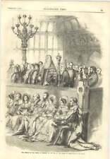 1856 presidente della House of Commons al bar della House of Lords