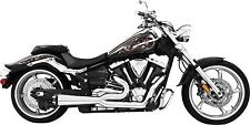 Freedom 2-Into-1 Exhaust System-BLK Yamaha V-Star 950/Tourer 2009-2014 MY00137