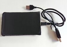 "New 250 GB external Portable 2.5"" USB 2.0 hard Drive HDD POCKET SIZE black"
