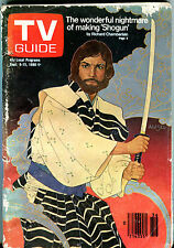 TV Guide Sept. 6-12 1980 Richard Chamberlain Shogun VG 010716jhe