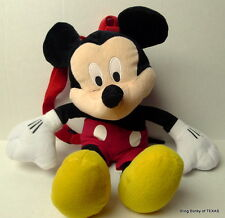 Mickey Mouse back pack plush doll