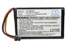 Battery for TomTom XXL IQ Routes, XL 340, XL 340S (P/N 6027A0106201, R2)