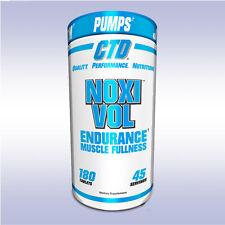 CTD LABS NOXIVOL (180 TABLETS) vascularity pumps noxi vol nitric oxide no3 boost