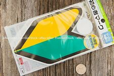 Japanese New Driver Badge Orange Green Window Sticker JDM Domestic Market