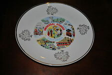 UNIVERSAL STUDIOS CALIFORNIA PLATE ONLY 1 OF THIS STYLE ON E-BAY VERY RARE COOL