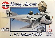 "1/72 WW1 Fighter:  LFG Roland CII ""1916"" [Germany] : AIRFIX"