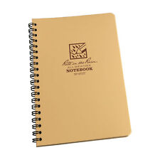 Rite in the Rain TAN All Weather Pocket Notebook 4 5/8 x 7 Universal Pattern