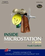 Inside Microstation by Frank Conforti (2002, Paperback, Revised)