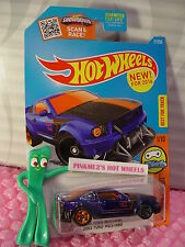 Case F 2016 Hot Wheels 2005 FORD MUSTANG #21✰Blue/Orange;✰DIGITAL CIRCUIT
