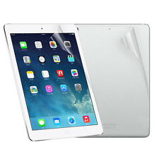 Front And Back Clear Film LCD Screen Protector Skins Covers For iPad 5 6 Air 1 2