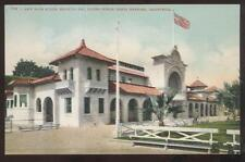 Postcard SANTA BARBARA California/CA  New Beach Bath House view 1907?