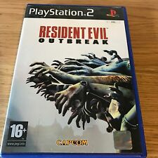 Resident Evil Outbreak PS2 PlayStation 2 Game | PAL Complete | Capcom Zombies