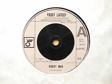 "YUSEF LATEEF ROBOT MAN 7"" SINGLE 1977 EXCELLENT"