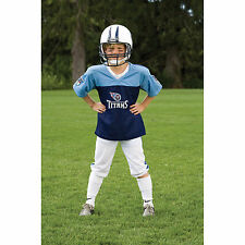 YOUTH SMALL Tennessee Titans NFL UNIFORM SET Kid Game Day Jersey Costume Age 4-6