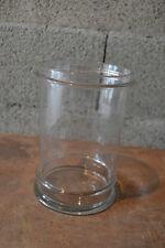 Bouteille flacon de pharmacie en verre soufflé ancien pot beau modèle