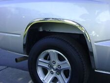 2005 – 2014 Dodge Dakota (Without OEM Flares) Stainless Steel Fender Trims