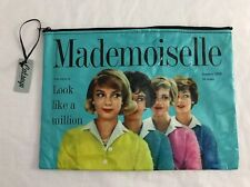 Catseye London Mademoiselle Magazine Cover MAD6AP A4 Pouch NEW Blue