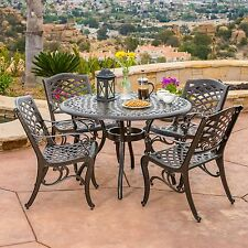 Patio Furniture Sets In Material Aluminum