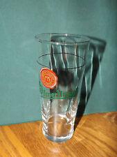 PILSNER URQUELL BEER GLASS, TALL, SLIGHTLY SPIRALED, CZECH REPUBLIC