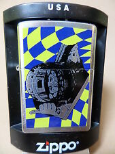 "Zippo ""RACING SERIES / BLUE YELLOW"" SUPI - NEU !!! 1200"