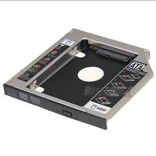"2.5"" 12.7mm SATA Caddie Caddy Disque HDD Hard Drive pour CD/DVD-ROM PC Portable"