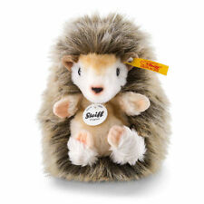 STEIFF Joggi Hedgehog 13cm Brown EAN 071386 Plush soft toy child gift New