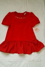 Juicy Couture Girls Red Ponte Bow dress new 6/7 $108