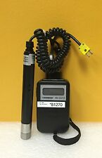 Omega RH-201°F, -22°F to 900°F, Relative Humidity/Temperature Meter + Probe Assy