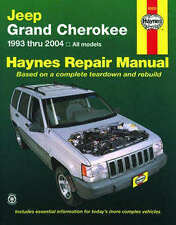 Jeep Grand Cherokee Reparación Manual Haynes Manual Taller Manual De 1993-2004 50025