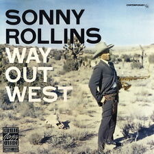 CD Album Sonny Rollins Way Out West (I`m An Old Cowhand, Solitude) 80`s ZYX