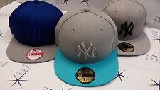 New Era Cappelli NY blu grigio new york yankees varie misure