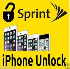 FACTORY UNLOCK SPRINT & Virgin & Boost USA IPHONE 4/4s/5/5s/5c and 99xx Premium