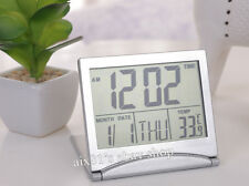 Multifunction Digital LCD Alarm Clock Snooze Calendar Thermometer Temp Tiempo