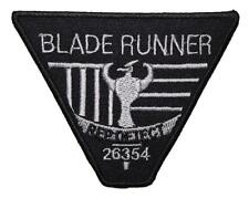 Blade Runner Rep Detect Embroidered Patch Sew / Iron-on 10cm Badge