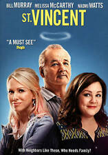 """DVD """" ST.VINCENT """" A MUST SEE! NEIGHBOURS LIKE THESE, WHO NEEDS A FAMILY? FUNNY"""