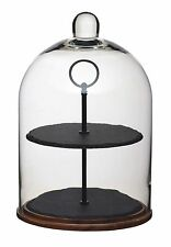 Master Class Artes 2-Tier Serving Stand / Cake Dome 22 x ... NEW - FAST DELIVERY