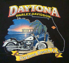 Harley-Davidson Motorcycles Fat Boys Rule T-Shirt (M) Daytona Beach Florida