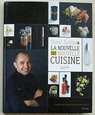 La Nouvelle Nouvelle Cuisine David ZUDDAS éd Hachette DEDICACE 2009