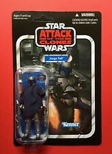 Star Wars Vintage Collection Vc34 Jango Fett..1st issue Card...Unpunched..Mint
