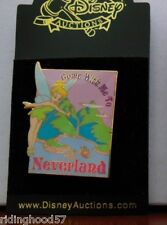 Disney Auctions ~ Tinker Bell Come with me to Neverland Poster DA LE Pin
