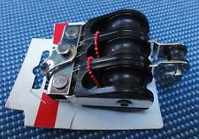 Sailing RWO Part No R5222Triple 28mm Macro Block + shackletop,+becket +BB