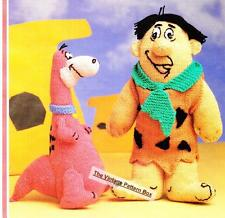 FRED & DINO / DINOSAUR  - DOLL / TOY - 8ply or DK - toy knitting  pattern