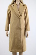 ASOS PETITE Camel Women's Coat in Midi with Stab Stitch Detail UK SIZE 6 34