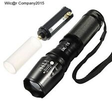 Military Grade Tactical Flashlight LED 1800 Lumens 2000x Waterproof TC1200 Style